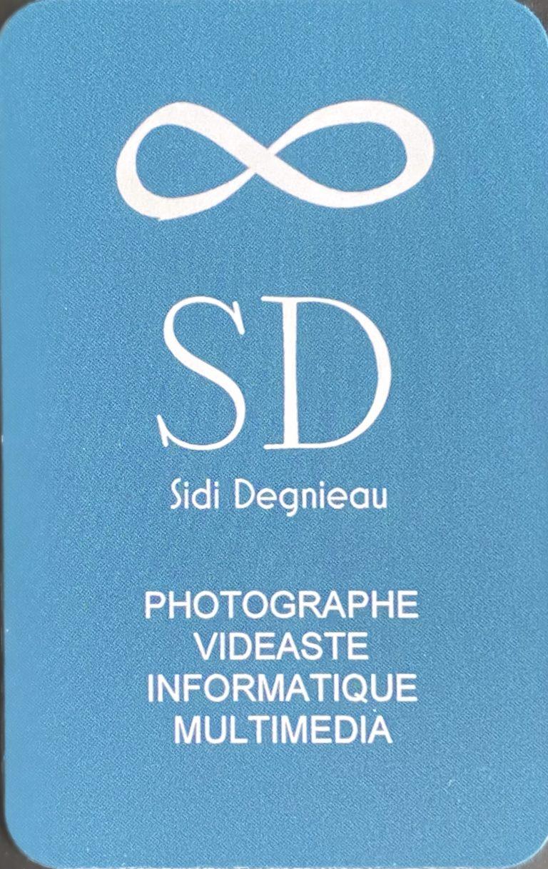 Carte de Visite Sidi Degnieau Recto